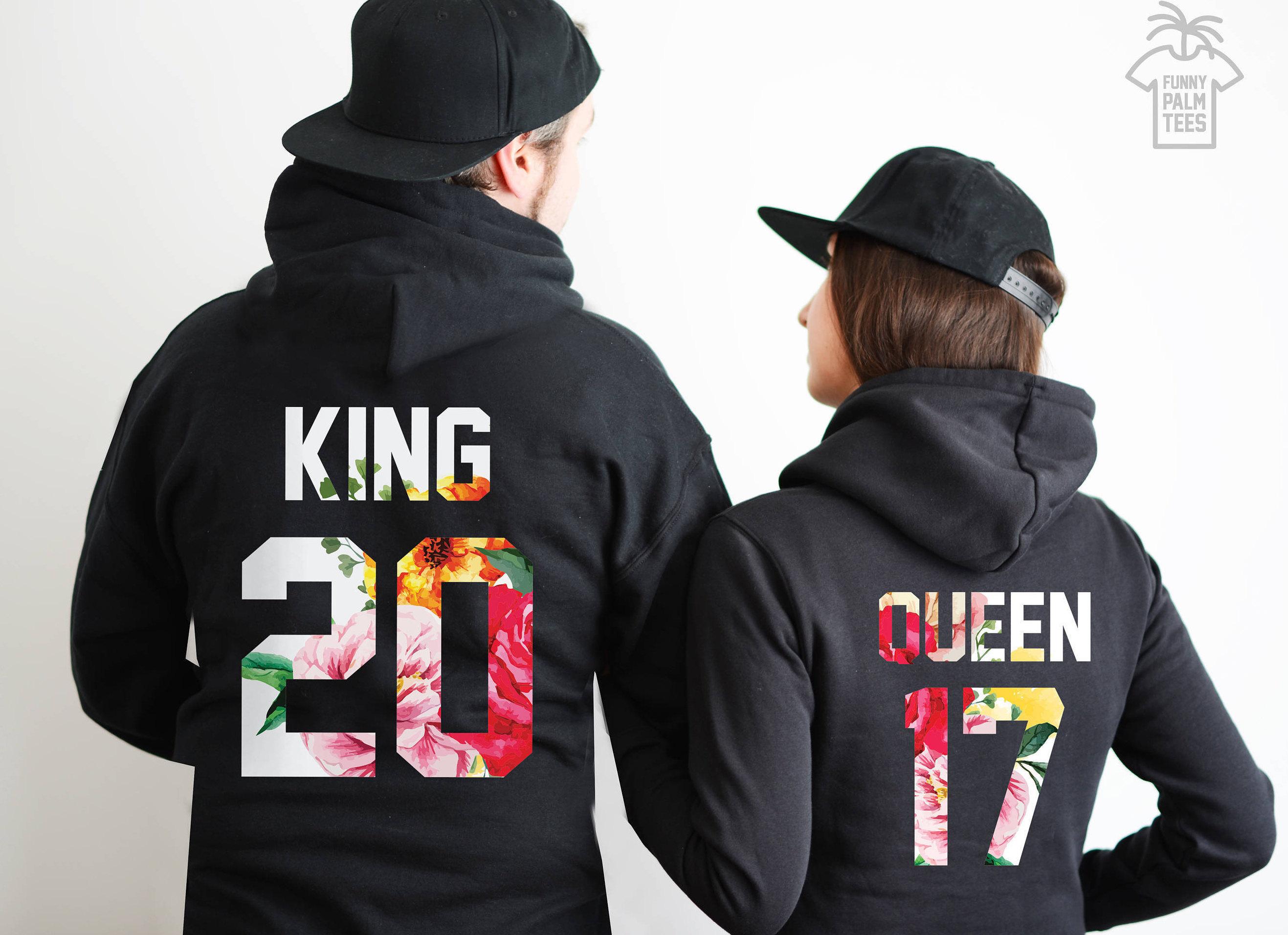 Sueter Sweater King & Queen, Enamorados, Novios, Parejas