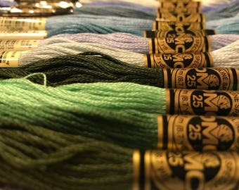 DMC Embroidery Floss - many different colors