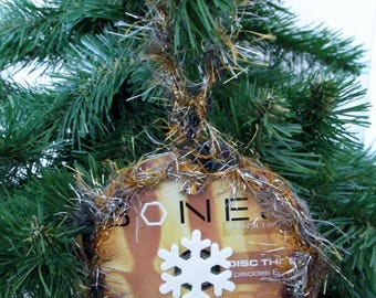 Bones Christmas Ornament Upcycled TV Show DVD #8