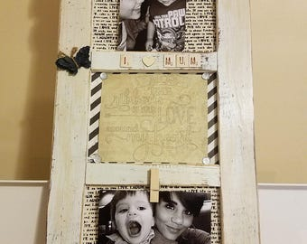 3 Part Wood Picture Frame