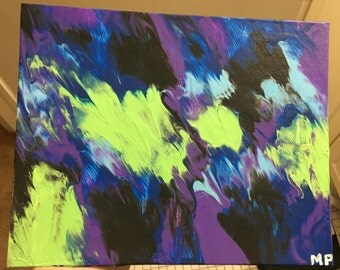 Multi Color Acrylic Painting