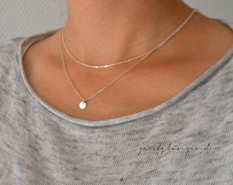 "925 sterling silver necklace with ""XS"" Plate"