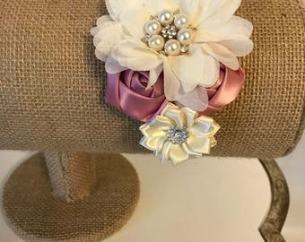 Shabby Chic Couture Headband for a Baby