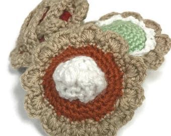 Pumpkin, Cherry, and Key Lime Pie Cat Toys (Set of 3)