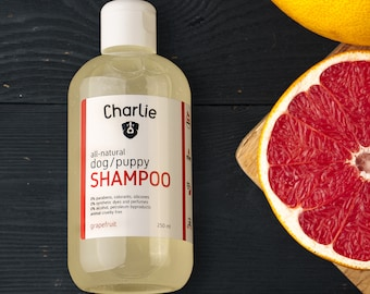 all natural dog SHAMPOO - grapefruit peel oil