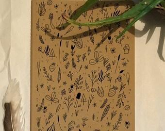 Forest Floor Sketchbook