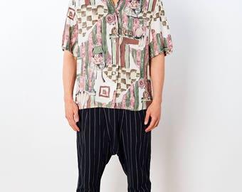 PRINTED VINTAGE 90s Retro Shirt