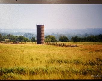Kansas Farm Scene
