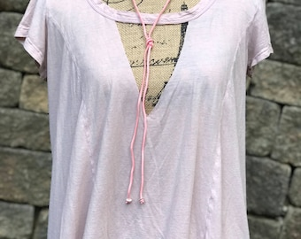Pink Wrap Choker //SewEdgyDesigns