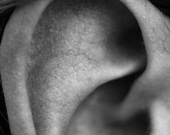 Auricle - Abstract Portrait - Photographic Print