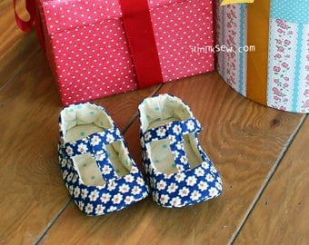 308 Seraphina Baby Shoes PDF Pattern