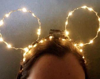 Disney LED Mickey Ears Headband