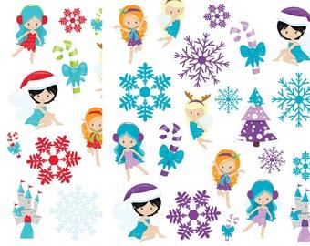 Holiday and christmas fairies