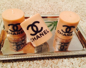 Scented capuccino Chanel candles