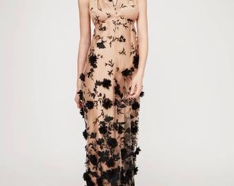 Dress Kunzil: ball gown, gala dress, occasion dress, evening dress, Festlicheskleid. Label Oakley Krafft fashion