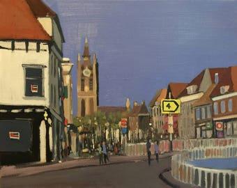 Heading into Delft