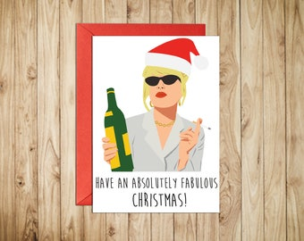 Have An Absolutely Fabulous Christmas || Christmas & Holiday Season Cards || Greeting Cards