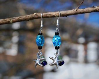 Ocean Starfish Earrings