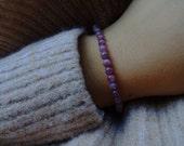 Lepidoliet kralen armband