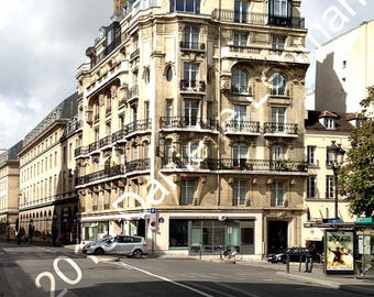 French Building in Paris - Digital Download