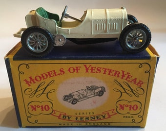 Models of Yesteryear No 10 1908 Mercedes
