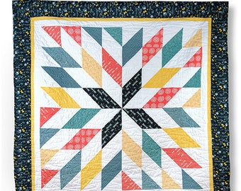 Giant Star quilt pattern from Cozy Quilt Designs