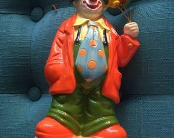 Vintage Enesco Clown Music Box