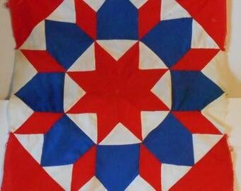 Quilting Fabric - Patriotic Pieces and Parts