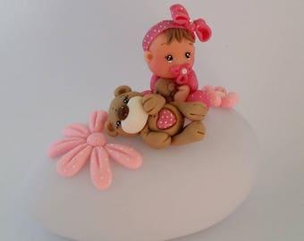 Nightlight Pebble for baby girl