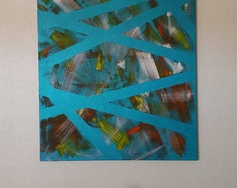 30x40 Original Acrylic, Stretched Canvas