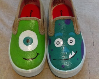 Custom Monster inc. Shoes