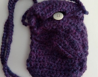 Crocheted Cell Phone Bag