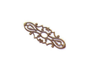 Bronze filigree connectors REF CO0003