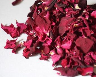 Natural, Biodegradable Confetti - Piano Rose Petals