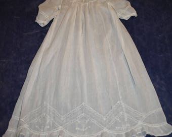 Vintage Baby Girl Christening /Long Night Gown