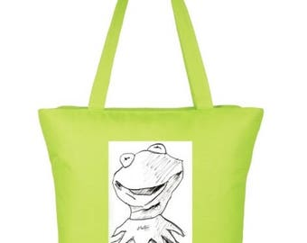 Kermit the Frog Tote Bags
