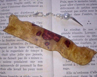 Brand - pages in wood of amboyna Burl