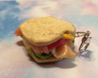 Polymer Clay Sandwich Charm