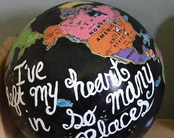 "Globe ""I've left my heart in so many places"""