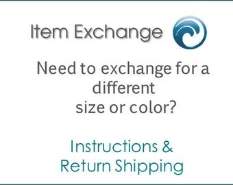 Exchange and Item or Re-Ship an Order