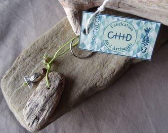 Door keys or jewelry bag Green Driftwood
