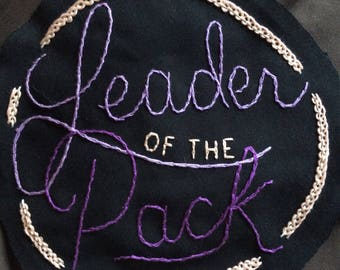 Leader of the Pack backpatch
