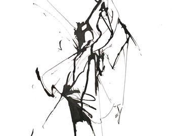 ink fashion sketch