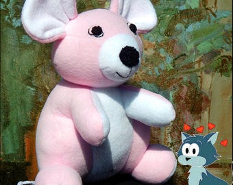 Doll / doll / art doll / mouse soft toy / home decoration / gift / stuffed animals
