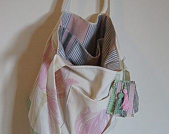 Handbag, Tote, recycled textiles, tote bag