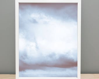 Abstract Clouds - Printable Art Photography