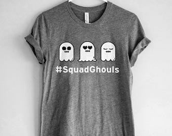 Squad Ghouls Shirt // Halloween Shirt // Funny Halloween T-Shirt // Halloween Ghost Shirt // Squad Goals Shirt