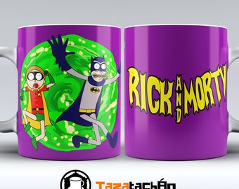 Cup Rick and Morty - Batman