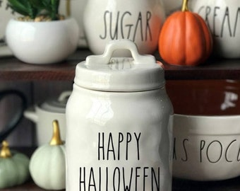 Halloween Canisters Etsy