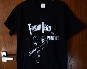 Frankenstein Frank Iero and the Patience shirt